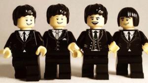 Se le band fossero dei Lego...