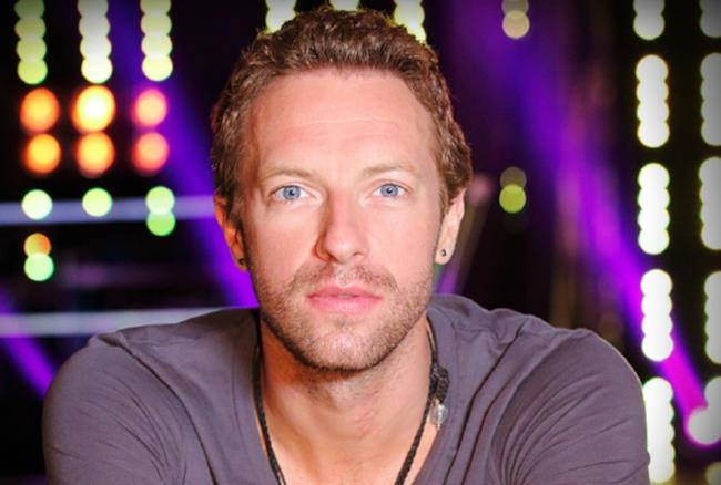 Chris Martin nello studio di The Voice USA