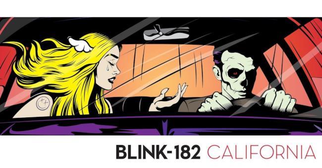 Copertina album California Blink-182