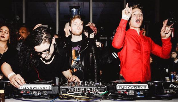 I VINAI concorrono contro Diplo e Skrillex, membri del duo Jack U