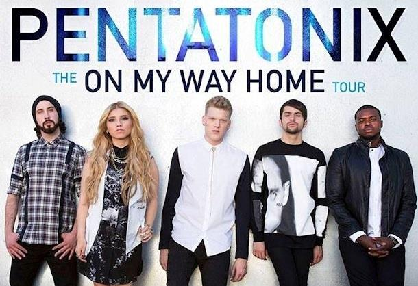 Manifesto On My Way Home Tour 2015 Pentatonix