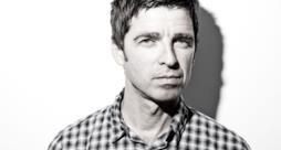 Primo piano di Noel Gallagher