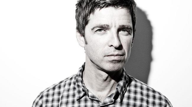 Primo piano di Noel Gallagher