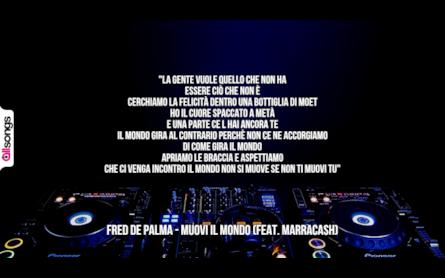 Frasi Canzone Stanza 365.Fred De Palma Le Migliori Frasi Dei Testi Delle Canzoni Allsongs
