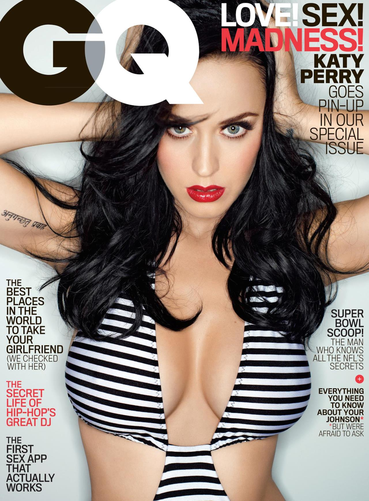 Katy Perry GQ cover 2014