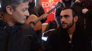 Marco Mengoni con Fiorello