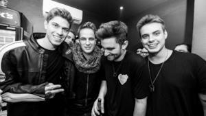 I DJ produttori Dannic, Dyro, Merk & Kremont