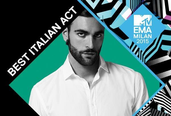 Marco Mengoni Best Italian Act MTV EMA 2015