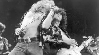 Robert Plant e Jimmy Page dei Led Zeppelin