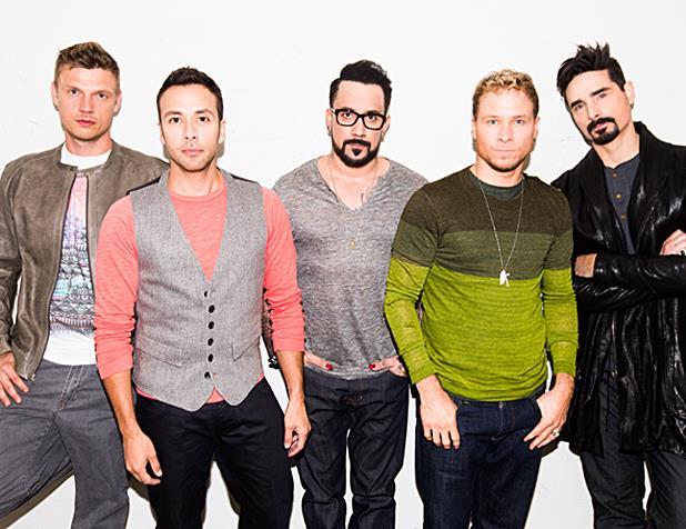 I 5 componenti dei Backstreet Boys