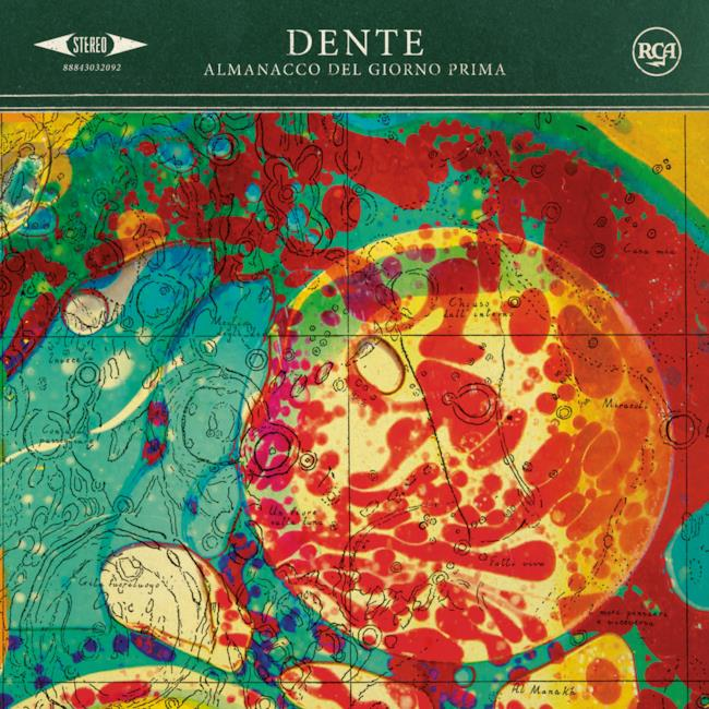 Copertina album 2014 di Dente
