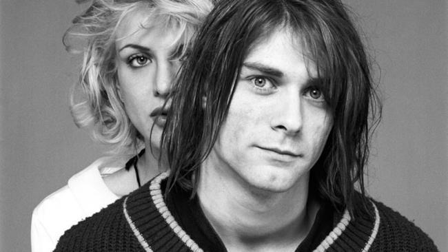 Courtney Love e Kurt Cobain
