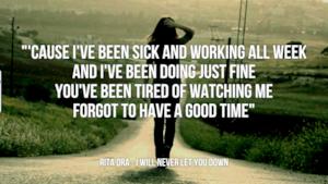 Rita Ora: le migliori frasi delle canzoni
