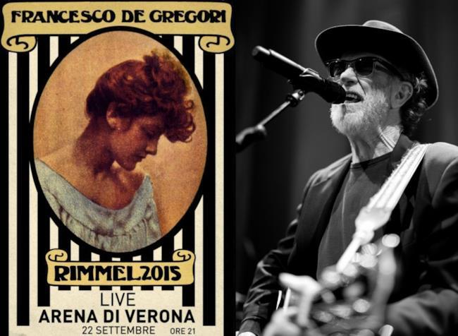 Concerto De Gregori all'Arena di Verona