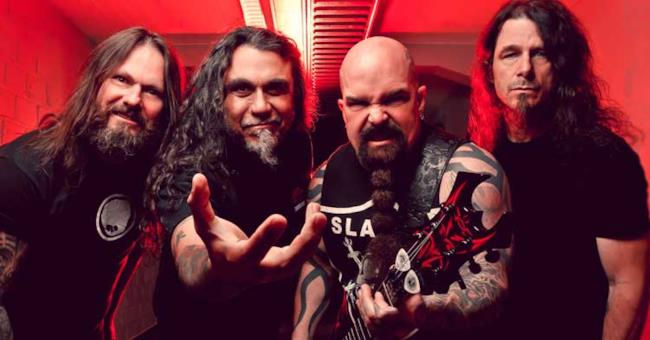 Gli Slayer nel 2015