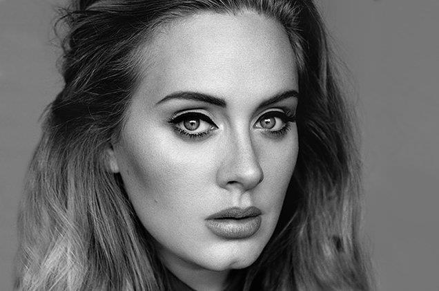 Adele fotografata nel 2015 da Alasdair McLellan