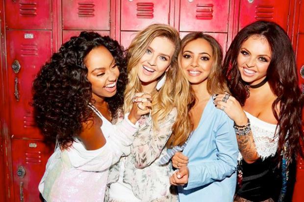 Le 4 componenti del gruppo femminile Little Mix