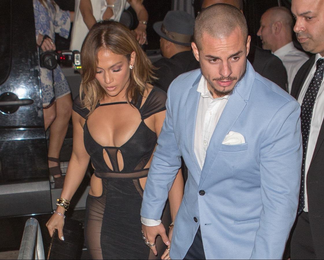 Jennifer Lopez col fidanzato Casper Smart