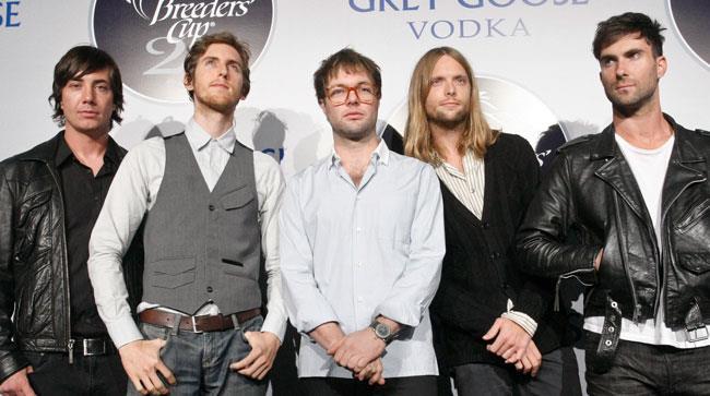 I componenti dei Maroon 5