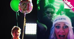 Niall Horan compie 21 anni e festeggia con Liam Payne ingessato