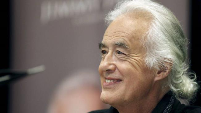 Jimmy Page nel 2015