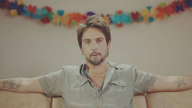 Francesco Sàrcina nel videoclip di Parte Di Me