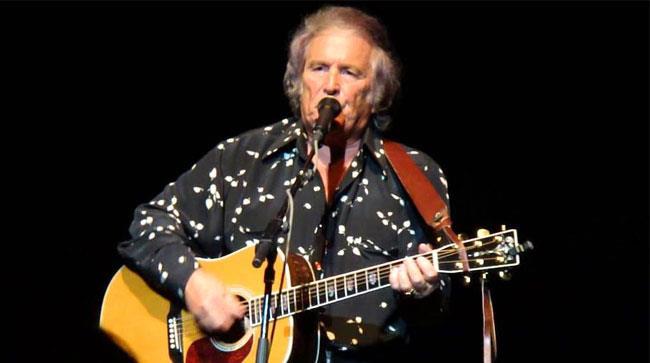 Don McLean sul palco