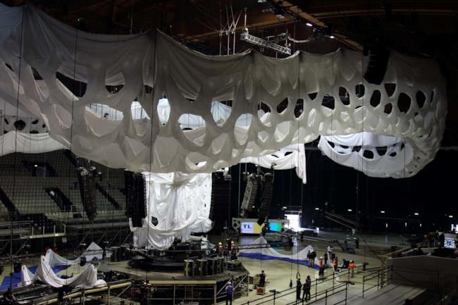 Scenografia di Sensation Into The Wild 2014