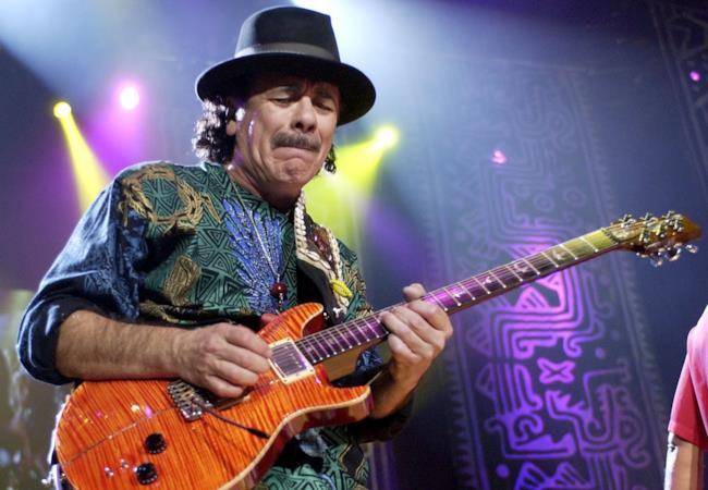 Carlos Santana dal vivo