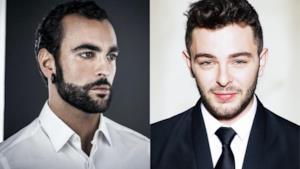 Gli ex vincitori di X Factor Marco Mengoni e Lorenzo Fragola