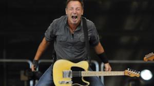 Il musicista Bruce Springsteen