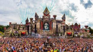La storia del Tomorrowland
