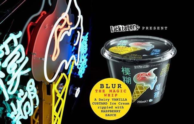 Magic Whip è il gelato dei Blur