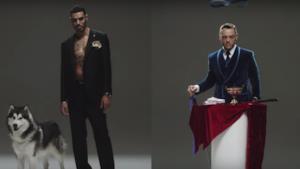 Marracash e Tiziano Ferro nel video di Senza un Posto nel Mondo
