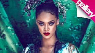 Rihanna sulla copertina di Harper's Bazaar China (gallery marzo 2015)