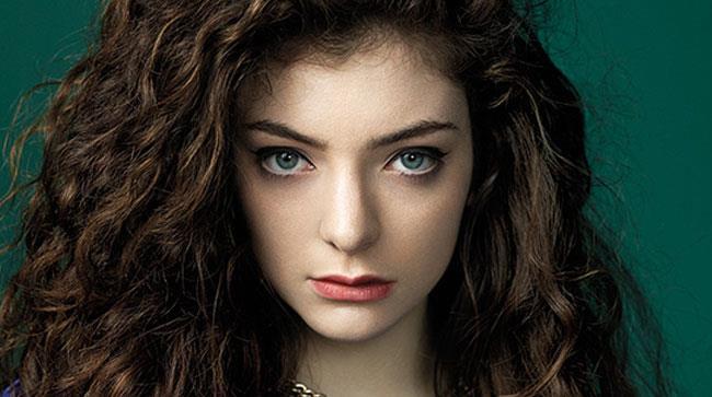 Primo piano di Lorde
