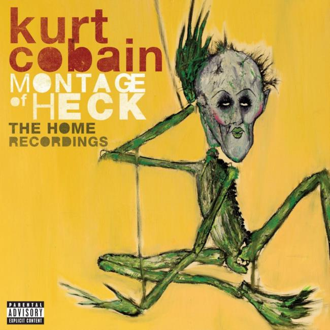 Cover Deluxe Kurt Cobain: The Montage of Heck