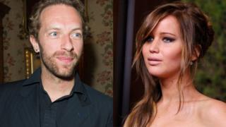 Chris Martin paparazzato a Las Vegas con Jennifer Lawrence