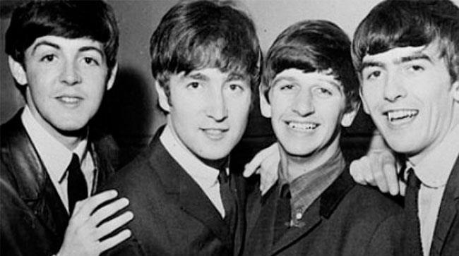 I componenti dei Beatles negli anni '60