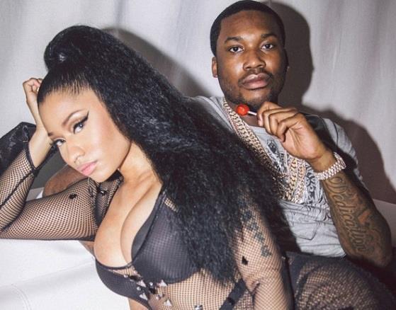 Nicki Minaj fotografata insieme al fidanzato Meek Mill