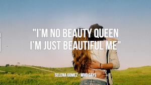 Selena Gomez: le migliori frasi delle canzoni