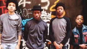 I quattro giovani protagonisti di The Get Down su Netflix