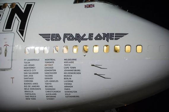 L'aereo degli Iron Maiden