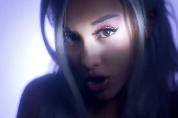 Ariana Grande nel video del prossimo singolo Focus