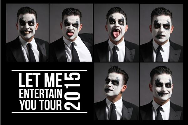 Tour 2015 Robbie Williams