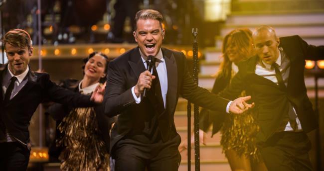 Robbie Williams On Stage BBC 2016