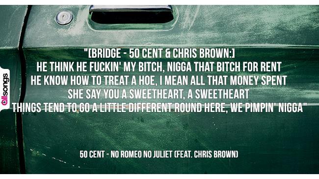 50 Cent: le migliori frasi dei testi delle canzoni