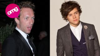 Chris Martin e Harry Styles