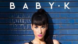BABY K sulla cover del nuovo album Kiss Kiss Bang Bang