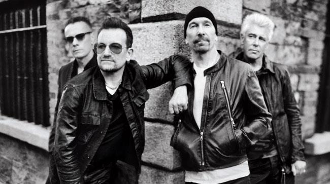 La band irlandese degli U2
